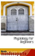 Portada de PHYSIOLOGY FOR BEGINNERS
