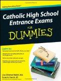 Portada de CATHOLIC HIGH SCHOOL ENTRANCE EXAMS FOR DUMMIES (FOR DUMMIES (LIFESTYLES PAPERBACK))