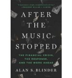 Portada de [(AFTER THE MUSIC STOPPED: THE FINANCIAL CRISIS, THE RESPONSE, AND THE WORK AHEAD)] [ BY (AUTHOR) ALAN S. BLINDER ] [OCTOBER, 2013]