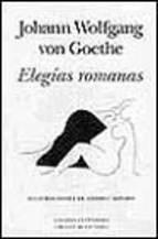 Portada de ELEGIAS ROMANAS
