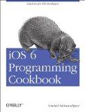 Portada de IOS 6 PROGRAMMING COOKBOOK