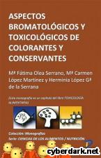 Portada de ASPECTOS BROMATOLÓGICOS DE CONSERVANTES Y COLORANTES - EBOOK
