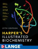 Portada de HARPER'S ILLUSTRATED BIOCHEMISTRY (LANGE BASIC SCIENCE)