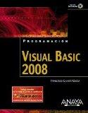 Portada de VISUAL BASIC 2008 (PROGRAMACION)