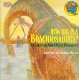 Portada de HOW BIG IS A BRACHIOSAURUS?: FASCINATING FACTS ABOUT DINOSAURS (ALL ABOARD BOOKS)