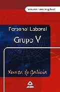 Portada de PERSONAL LABORAL DE LA XUNTA DE GALICIA : TEMARIO COMUN Y TEST