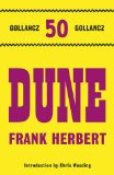 Portada de DUNE (GOLLANCZ 50 TOP TEN)