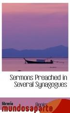Portada de SERMONS PREACHED IN SEVERAL SYNAGOGUES