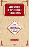 Portada de VADEMECUM DE OPOSICIONES Y CONCURSOS - CONTROLES DE LA DISCRECIONALIDAD TÉCNICA, ERRORES Y ABUSOS EN LOS PROCEDIMIENTOS SELECTIVOS