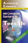 Portada de AUXILIARES DE ENFERMERIA DEL CONSORCIO SANITARIO DE TENERIFE: TEST