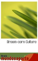 Portada de BROOM-CORN CULTURE
