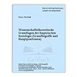 Portada de WISSENSCHAFTSTHEORETISCHE GRUNDLAGEN DER EMPIRISCHEN SOZIOLOGIE (GRUNDBEGRIFFE UND HAUPTPOSITIONEN)