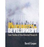 Portada de [( THE UNIVERSITY IN DEVELOPMENT: CASE STUDIES OF USE-ORIENTATED RESEARCH )] [BY: DAVID COOPER] [SEP-2011]