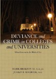 Portada de DEVIANCE AND CRIME IN COLLEGES AND UNIVERSITIES: WHAT GOES ON IN THE HALLS OF IVY