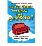 """Portada de [SO YOU THINK YOU KNOW THE """"SIMPSONS""""?] [BY: CLIVE GIFFORD]"""