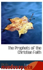 Portada de THE PROPHETS OF THE CHRISTIAN FAITH