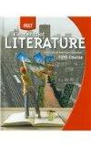 Portada de HOLT ELEMENTS OF LITERATURE: STUDENT EDITION, AMERICAN LITERATURE GRADE 11 FIFTH COURSE 2009