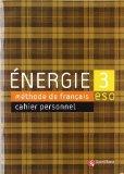Portada de ENERGIE 3 CAHIER D'EXERCICES