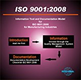 Portada de ISO 9001:2008 QUALITY MANAGEMENT SYSTEM MODEL FOR MANUFACTURING ORGANIZATIONS, ISO 9001 DOCUMENTATION DEVELOPMENT AND COMPLIANCE WITH REQUIREMENTS