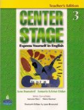 Portada de CENTER STAGE: EXPRESS YOURSELF IN ENGLISH