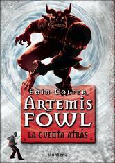 Portada de ARTEMIS FOWL V . LA CUENTA ATRÁS