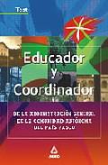 Portada de EDUCADOR Y COORDINADOR DE LA ADMINISTRACION GENERAL DE LA COMUNIDAD AUTONOMA DEL PAIS VASCO: TEST