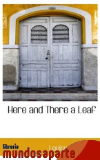 Portada de HERE AND THERE A LEAF