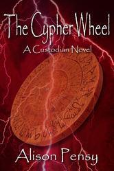 Portada de THE CYPHER WHEEL (CUSTODIAN NOVEL #3)