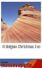 Portada de A BELGIAN CHRISTMAS EVE