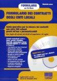 Portada de FORMULARIO DEI CONTRATTI DEGLI ENTI LOCALI. CD-ROM (SINGLE SHOT)