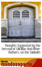 Portada de THOUGHTS SUGGESTED BY THE PERUSAL OF GILFILLAN: AND OTHER AUTHORS, ON THE SABBATH