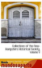 Portada de COLLECTIONS OF THE NEW-HAMPSHIRE HISTORICAL SOCIETY, VOLUME V