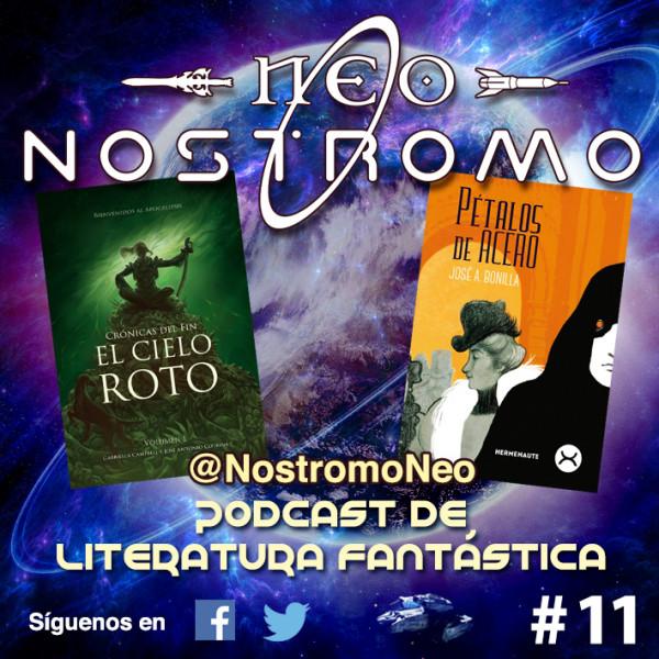 Portada de NEO NOSTROMO #11 - EL CIELO ROTO Y PÉTALOS DE ACERO