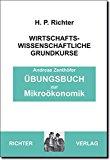 Portada de ÜBUNGSBUCH ZUR MIKROÖKONOMIK