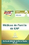 Portada de MEDICOS DE FAMILIA EN EAP DEL SERVICIO DE SALUD DE CASTILLA-LA MANCHA . TEMARIO PARTE ESPECIFICA. VOLUMEN II