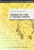 Portada de CALIDAD DE VIDA Y RETRASO MENTAL