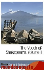 Portada de THE YOUTH OF SHAKSPEARE, VOLUME II