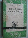 Portada de IDEARIUM ESPAÑOL Y EL PORVENIR DE ESPAÑA