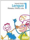Portada de LENGUA 1º PRIMARIA. PROYECTO BRÚJULA