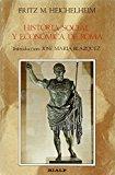 Portada de HISTORIA SOCIAL Y ECONOMICA DE ROMA