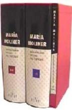 Portada de DICCIONARIO DE USO DEL ESPAÑOL MARIA MOLINER (2 VOLS. + CD-ROM 2003)