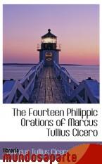 Portada de THE FOURTEEN PHILIPPIC ORATIONS OF MARCUS TULLIUS CICERO
