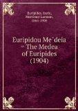 """Portada de EURIPIDOU MEÌ""""DEIA = THE MEDEA OF EURIPIDES (1904)"""