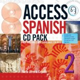 Portada de ACCESS SPANISH 2 CD & TRANSCRIPT: AN INTERMEDIATE LANGUAGE COURSE: LEVEL 2 (HODDER ARNOLD PUBLICATION)