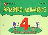 Portada de APRENDO NUMEROS CUADERNO 4 (5-6 AÑOS)