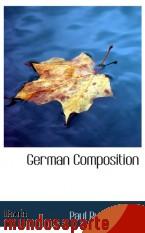 Portada de GERMAN COMPOSITION
