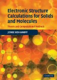 Portada de ELECTRONIC STRUCTURE CALCULATIONS FOR SOLIDS AND MOLECULES: THEORY AND COMPUTATIONAL METHODS