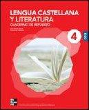 Portada de CUTR CUADERNO DE REFUERZO LENGUA Y LITERATURA 4
