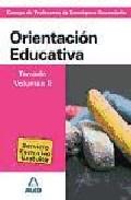 Portada de CUERPO DE PROFESORES DE ENSEÑANZA SECUNDARIA. ORIENTACION EDUCATIVA. TEMARIO. VOLUMEN II