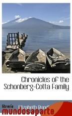 Portada de CHRONICLES OF THE SCHONBERG-COTTA FAMILY